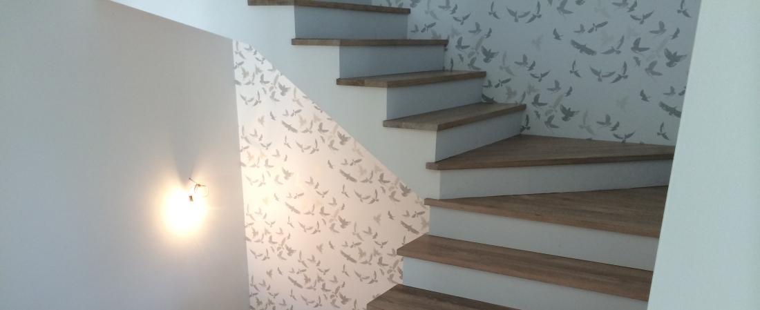 Zamontowane schod